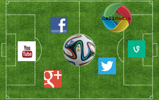 World Cup impact on Social Media, by Celimedia Digital Marketing